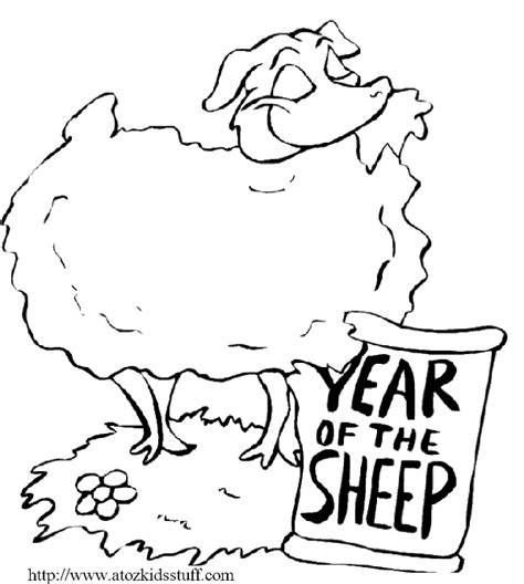 new year animal sheep a to z stuff new year sheep