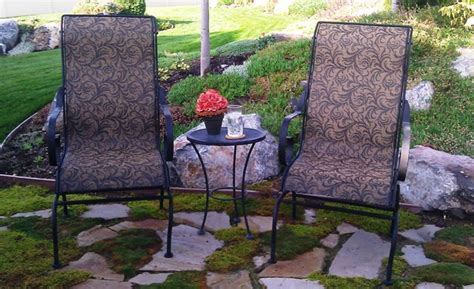 outdoor fabric for patio furniture steve from utah with patio furniture sling replacements using our brass filigree outdoor fabric