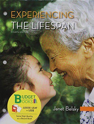 Experiencing The Lifespan experiencing the lifespan textbooks slugbooks