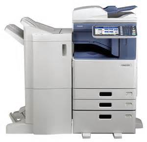 toshiba e studio 3055c multifunction color copier copyfaxes