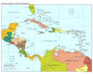 Central America Map In Spanish by Central America Map With Capitals In Spanish Galleryhip
