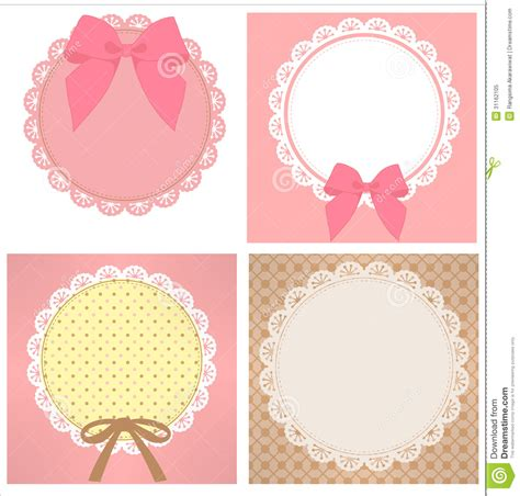 cute lace pattern cute lace pattern stock illustration illustration of card