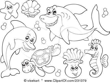 coloring pages of underwater animals ocean animals coloring book pages places to visit