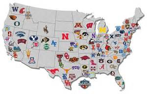 United States Map Of Colleges by Map Of The Day Us College Hoops Map Via Nissanultimateacces