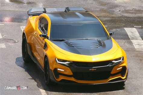 transformers camaro look at new bumblebee camaro for transformers 5