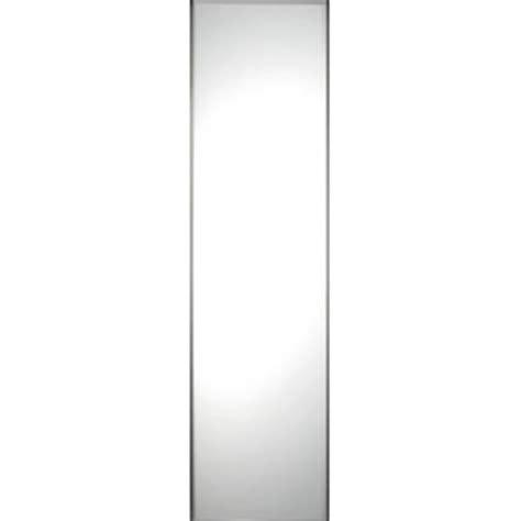 Single Mirror Closet Door Single Panel Silver Frame Mirror Door 610mm 24 Quot World Of Wardrobes