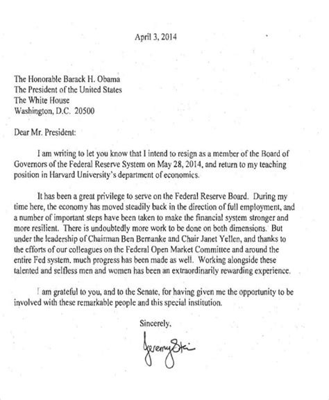 Board Of Directors Resignation Letter by 65 Sle Resignation Letters