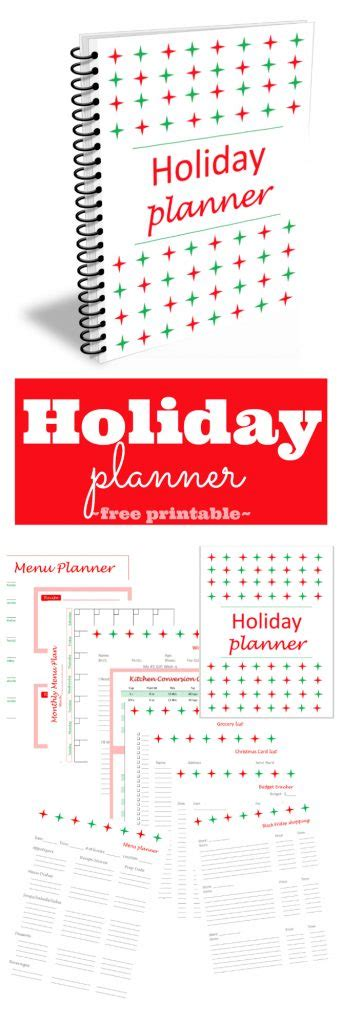 printable christmas organiser printable holiday planner around my family table
