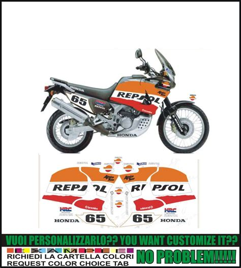 Sticker Honda Africa Twin by Kit Adesivi Stickers Compatibili Xrv Africa Twin Rd 03 Rd