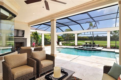 lanai design ideas patio traditional with skylight ceiling screened in porch marvelous pool pump enclosures interior designs with patio
