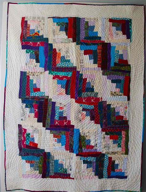 the wonky log cabin juniper quilts