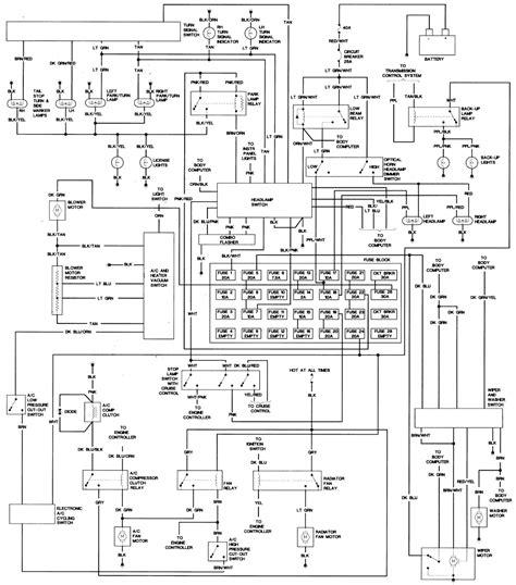 98 lincoln town car wiring diagram 98 wiring diagram
