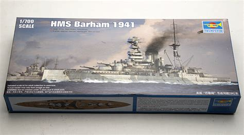 Trumpeter 05740 1 700 Scale Hms Battleship 1941 Plastic Assembly trumpeter 1 700 05798 hms barham 1941 assembly model kits modle building trumpeter scale model