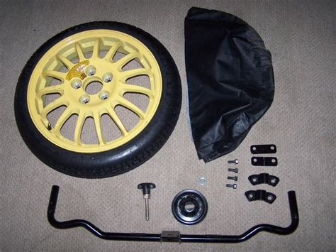 fs spare tire kit complete w cover never used 200