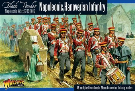 Set Viena Black Cc napoleonic hanoverian infantry j m miniatures