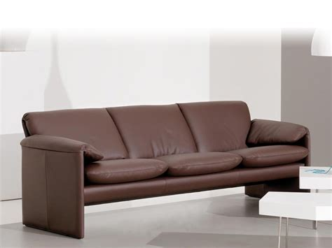low leather sofa recliner leather sofa bella bora low silver collection by