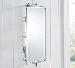 swivel mirror door bathroom cabinet everdayentropy com bathroom vanity mirrors pottery barn