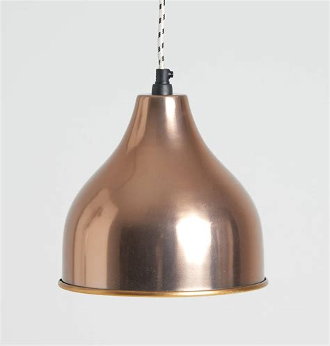 Rose Gold Pendant Lights By Horsfall Wright Gold Pendant Light