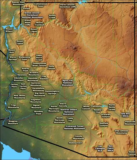 arizona land use map muggin information and pictures muggin breeds picture