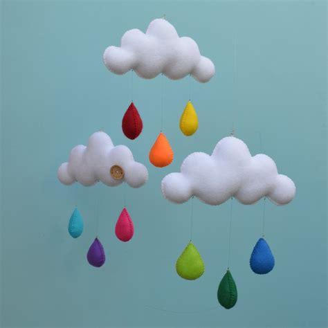 cloud mobile rainbow cloud mobile cloud mobile rainbows and nursery