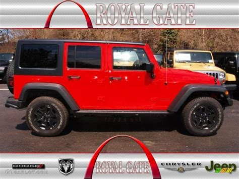 2013 Jeep Wrangler Paint Colors 2013 Rock Lobster Jeep Wrangler Unlimited 4x4
