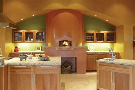 Kitchens With Fireplaces In Them by Pizza Oven In The Kitchen 25 Ideas For True Pizza