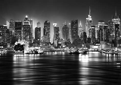 black and white sydney skyline wallpaper the facts and new york skyline manhattan wall mural wallpapers decor