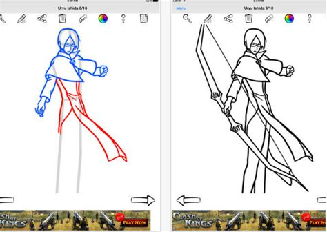 A Anime Drawing by 3 Great Apps Students Can Use To Draw Anime And