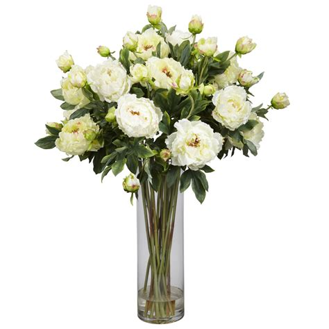 How To Arrange Artificial Flowers In A Large Vase by Floral Arrangements For Your Table Centerpiece White