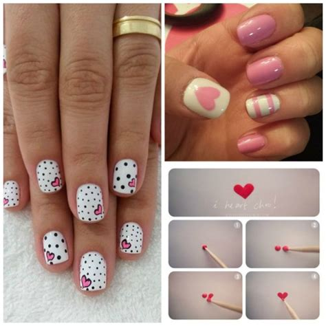 how to do nail art designs at home