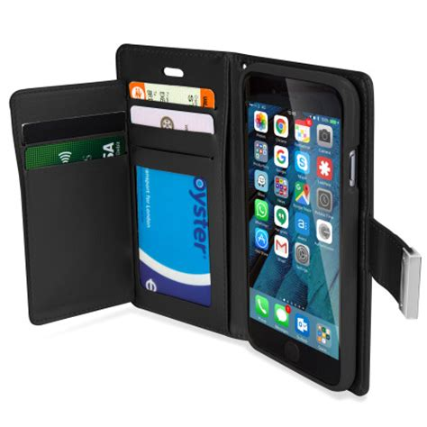 Wallet Mercury Iphone 4 mercury rich diary iphone 6s 6 premium wallet black