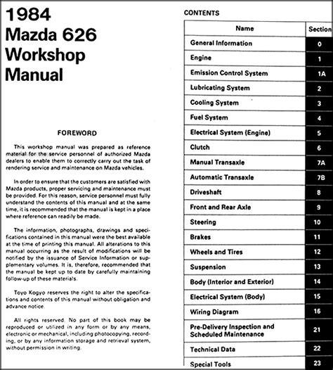 small engine maintenance and repair 1984 mazda 626 navigation system service manual pdf 1984 mazda 626 engine repair manuals 1983 1984 1985 1986 1987 1988 1989