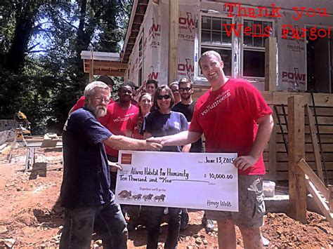 wells fargo housing foundation wells fargo housing foundation nails volunteering athens area habitat for humanity