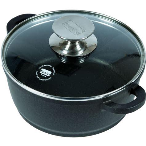 Oven Aluminium berndes 8 quot cast aluminum oven casserole pot w glass lid cookware
