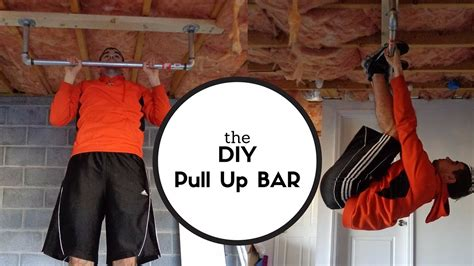 building  rock solid pull  bar diy youtube