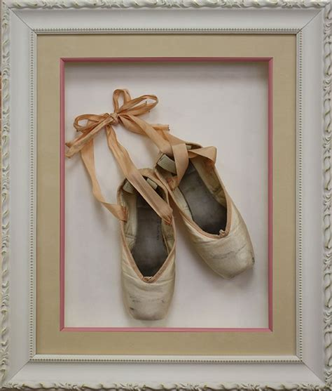 top 25 ideas about framing ideas on vintage crafts pointe shoes and
