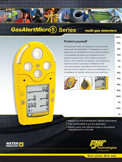 Gas Detector Micro gasalert micro 5