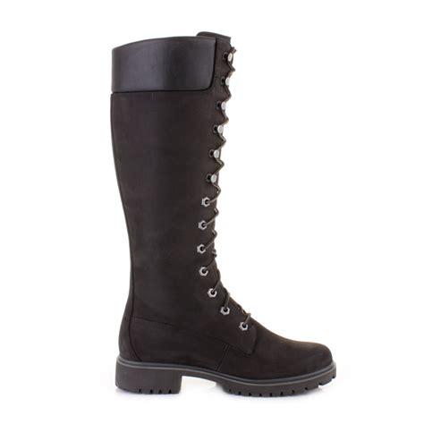 timberland 14 inch premium black waterproof knee