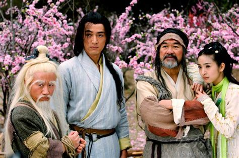 Serial Silat Legend Of Condor Heroes 2008 胡歌林依晨合作过什么电视剧 爱秀时尚网