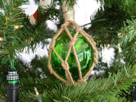 buy glass rope green fishing float christmas tree