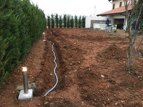 impianto elettrico in giardino impianto illuminazione giardino