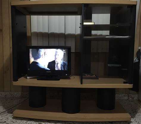 mueble de madera para tv mueble para tv madera 1 700 00 en mercado libre