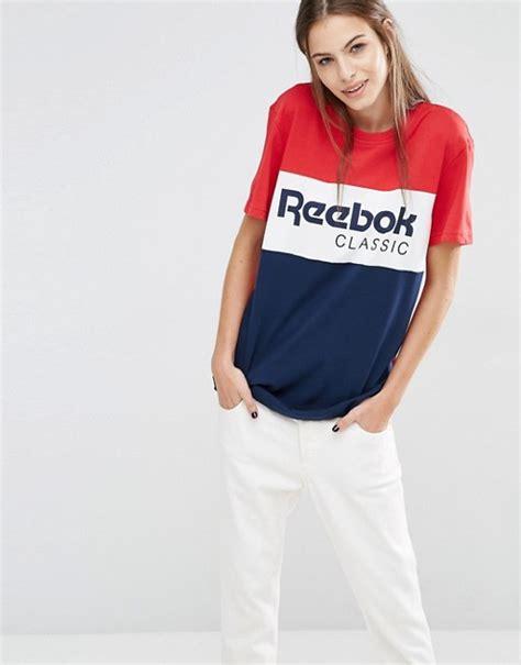 T Shirt This Is A Classic Reebok reebok reebok classics panel logo oversized t shirt in
