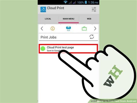 print text messages android how to print text from android with pictures