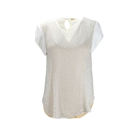 Blouse Jummbo Lq second l agence beaded embellished white blouse the fifth collection