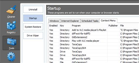 ccleaner context menu how to clean up your messy windows context menu with ccleaner