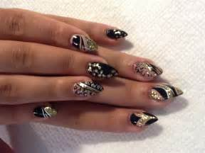 french square and stiletto nail art gallery nail art and