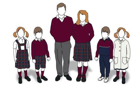 imagenes de niños uniformados se reabre el debate sobre el uniforme en los colegios