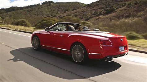 Bentley Continental Gt Speed Convertible St James Red