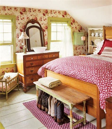 country decorating ideas designs cottage bedroom